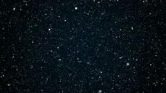 Through stars Stock Footage