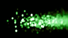 Water green flare SALE! Discount period Stock Footage