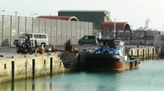 Port in Ishigaki Okinawa 42 Stock Footage