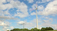 windpower clouds timelapse1 - stock footage