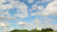 Stock Video Footage of windpower clouds timelapse1
