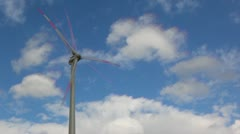 windpower clouds timelapse2 - stock footage