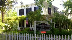 Dunbar House Bed & Breakfast Inn Murphys CA 1 Stock Footage