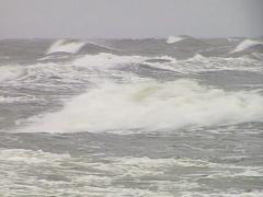 Nasty sea water waves Stock Footage