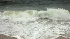 Stormy Beach Stockfootage-HD 1080p Video Stock Footage