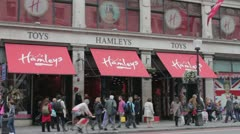 Hamleys Toy Store Stock Footage