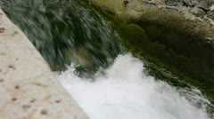 Water Way With Audio Stock Footage