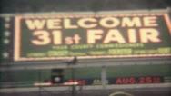 31 Fair Clock House BUs Tram 16mm Super8 Stock Footage