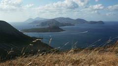 Aeolian islands Stock Footage