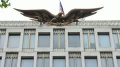 American Embassy London Stock Footage