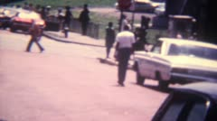 Street Scene 16mm Super8 - stock footage