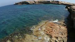 Formentera paradise beach wild Stock Footage