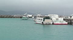 Port of Taketomi Island in Okinawa 02 Stock Footage