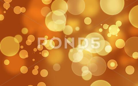 Stock photo of Abstract Bokeh Background Orange
