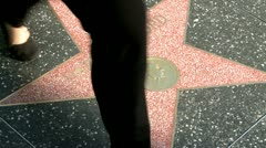 Walk of Fame Harrison Ford - stock footage
