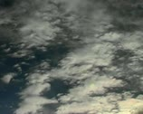 Timelapse clouds fluffy Stock Footage