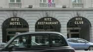 Ritz Hotel London Stock Footage