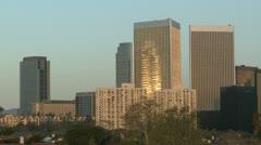 Los Angeles Skycraper - stock footage