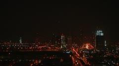Night Dubay - stock footage