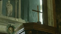 (Skull) St Agnes of Rome (2) Stock Footage