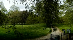 Hyde Park London  Stock Footage
