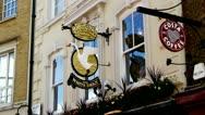 London Pub Stock Footage