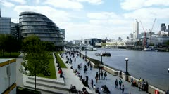 More London Riverside Stock Footage