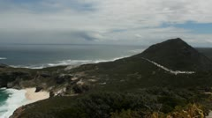 Cape of Good Hope View Stock Footage