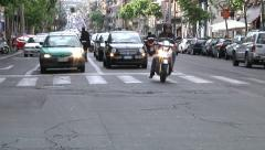 Stock Video Footage of Catania, city traffic.