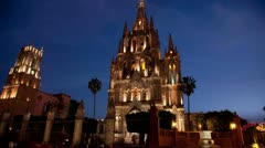 San miguel allende mexico picturesque Stock Footage