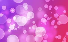Abstract Bokeh Background Purple Stock Illustration