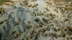 Mount McKinley model pan left P HD 1535 Stock Footage