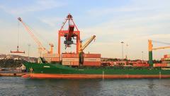 Haydarpasa Port Stock Footage