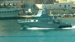 Patrol Boat Stock Footage