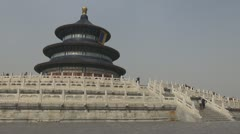 The Temple of Heaven, Beijing, China Stock Footage