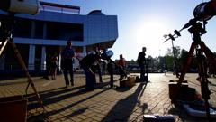 Transit of Venus 2012 3 4K Stock Footage