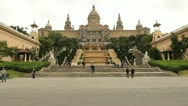 Stock Video Footage of Museum Nacional d'art de Catalunya, Barcelona