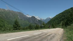 French Alps Stock Footage