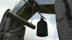 World Peace Bell in Ishigaki Okinawa Islands 06 60fps native slowmotion Stock Footage