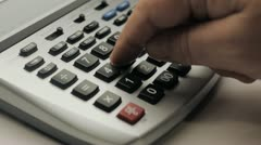 Co STK Calculator Stock Footage
