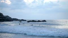 Puerto escondido beach mexico paradise Stock Footage