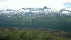 Valdez mountains P HD 8501 Stock Footage
