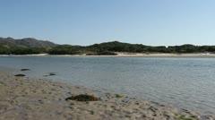 Morar beach Scotland Stock Footage