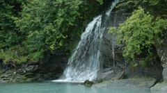 Waterfall Alaska Valdez P HD 8641 Stock Footage