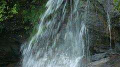 Waterfall closeup Alaska P HD 8642 Stock Footage