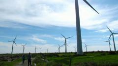 Wind Farm 1 Stock Footage