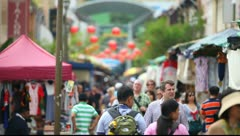 Tourists in the Singapore - stock footage