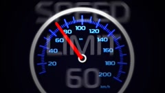 Stock After Effects of speedometer