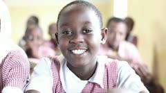 school girls kenya - stock footage