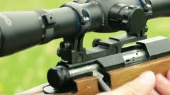 Sniper Stock Footage